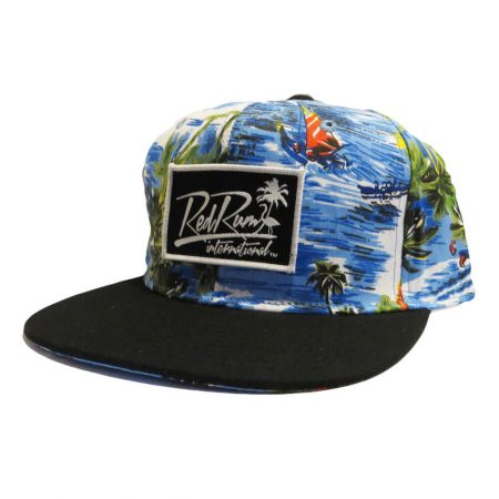Colorful floral snapbacks hats | Tropical Hats