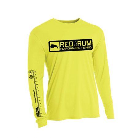 Yellow Fishing Shirts | upf 50 protection | Ruler Sleeve