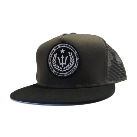 Spearfishing Hats | Charcoal Gray Snapbacks