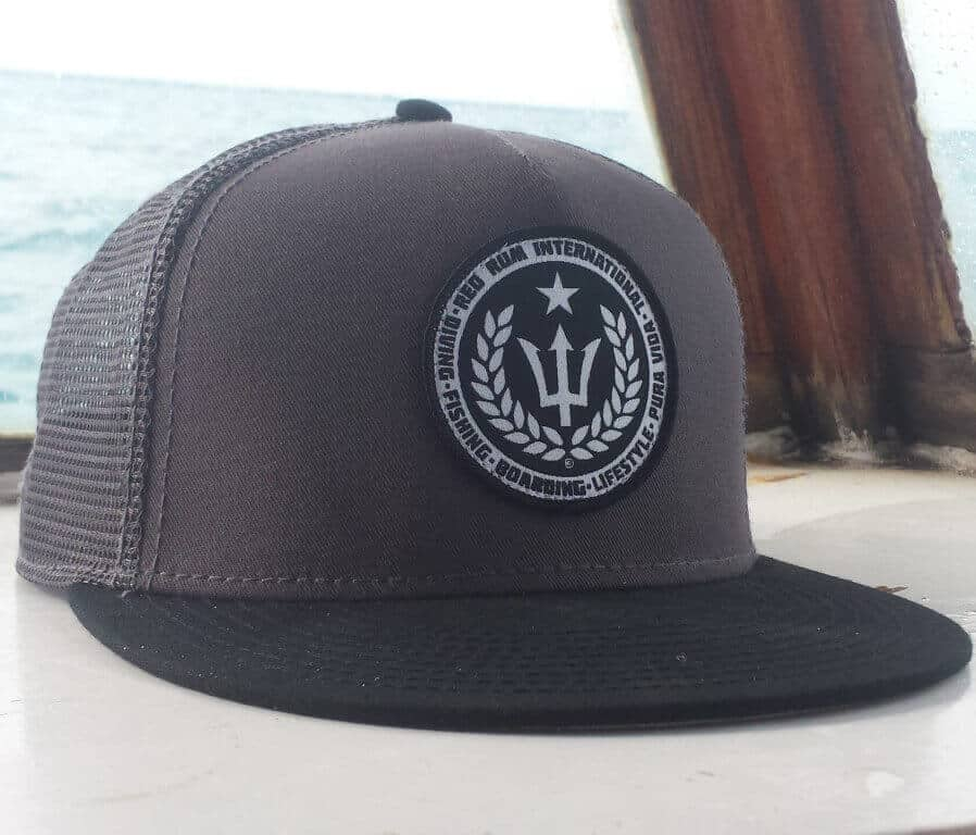 | Charcoal Snapbacks | Spearfishing Hats
