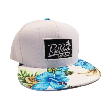 White Hats | Flower Hats | Floral Snapbacks