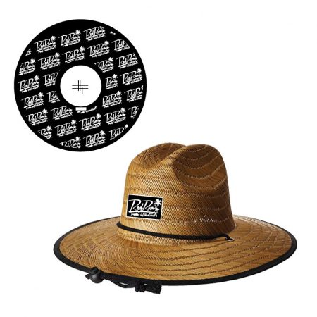 Red Rum Straw Hat | Sun Hat | Straw Fishing Hat