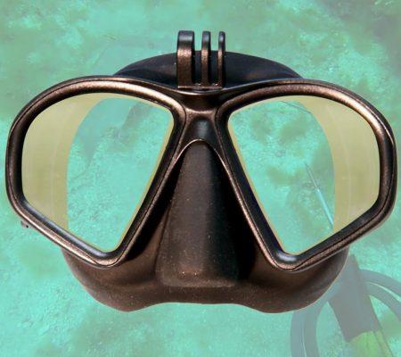 Hammerhead MV3 Dive Mask - Yellow Lenses   Spearfishing   Freediving