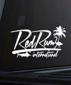 Red Rum Decal | truck decals | fishing