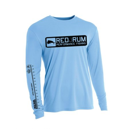 Light Blue Fishing Shirts | Ruler Sleeve Shirt