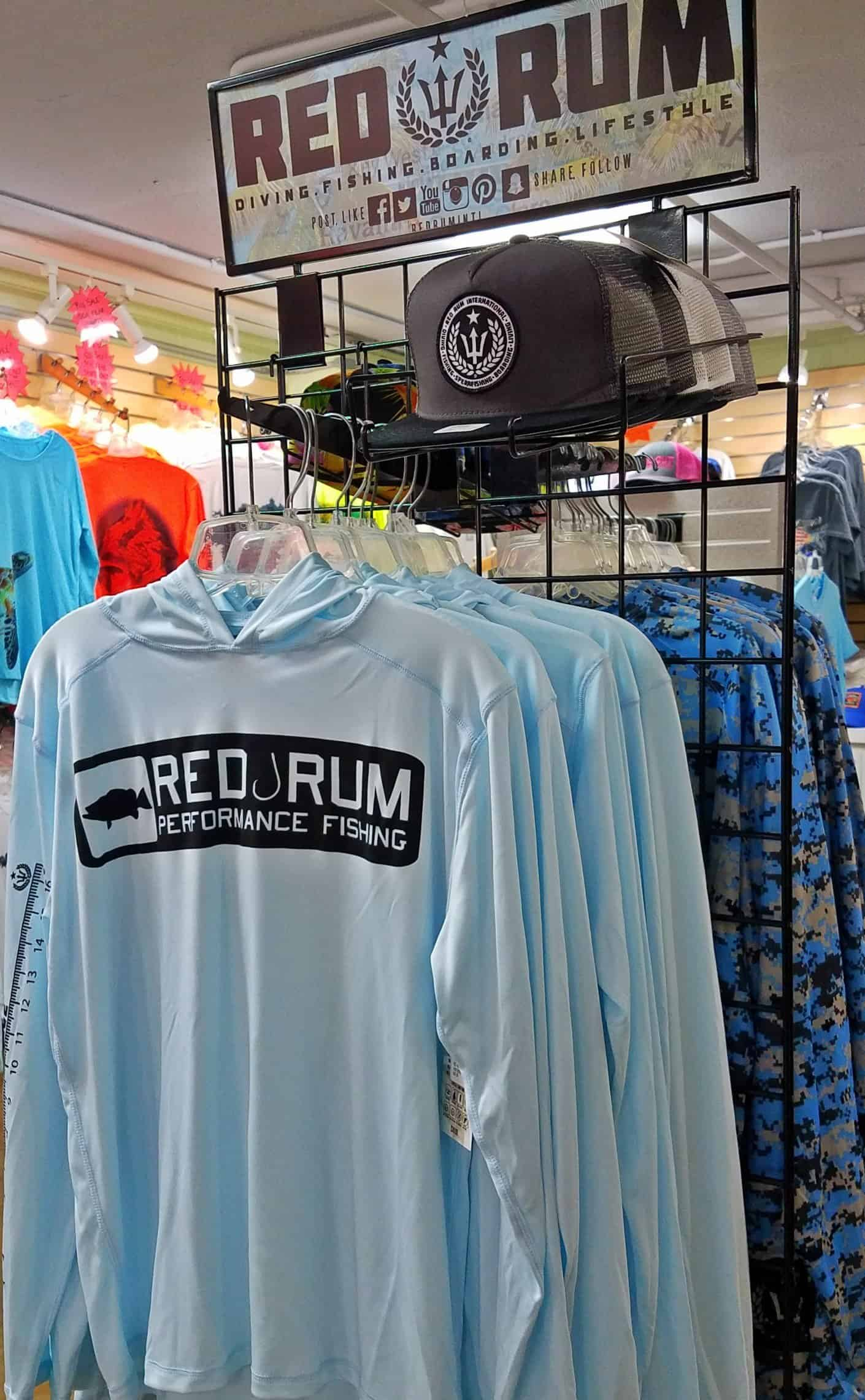 Red Rum Shirts available at Hubbard's Marina | John's Pass