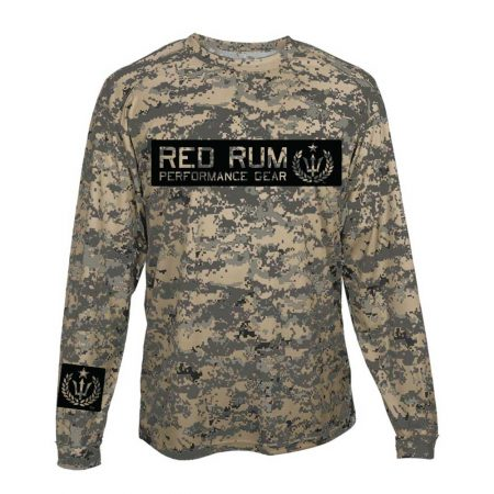 Desert Camo Fishing Shirts | Digital