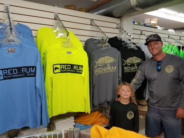 Red Rum Fishing Shirts | Yellow Bait House