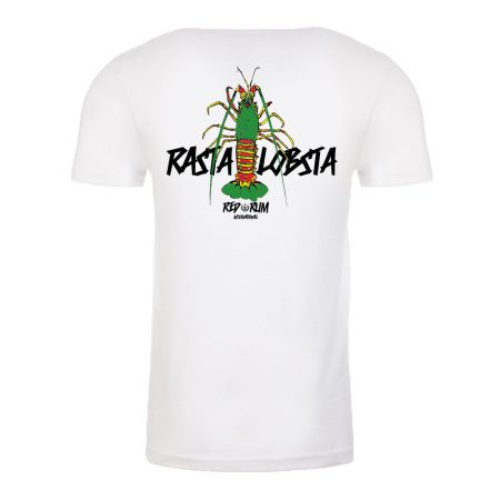 Rasta color lobster T shirt