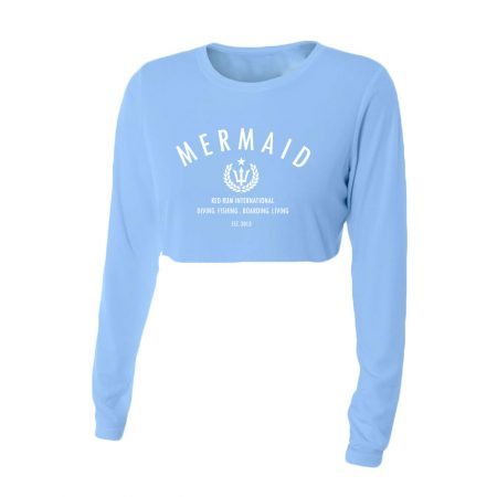Mermaid Crop tops
