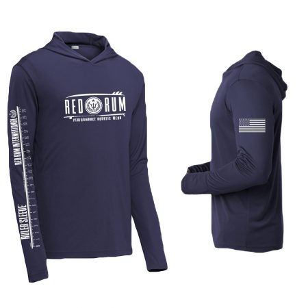 Navy - Performance Shirt Hoody