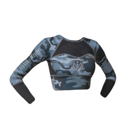 Crop top for surfing, spearfishing, diving