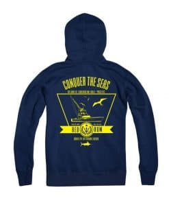 Navy Blue Hoody Fishing