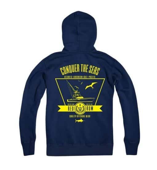 Navy Blue Hoody Fishing