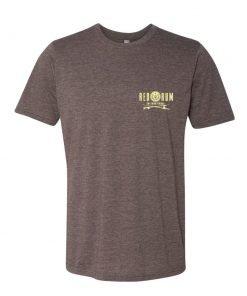 Brown Fishing T Shirt