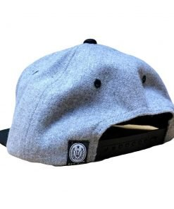 Light gray spearfishing snapback