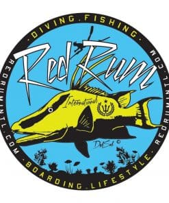 sticker with hogfish - spearfishing stickers