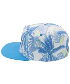 Blue Floral Hats
